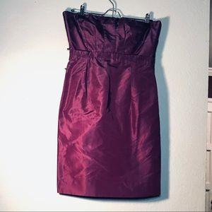 EUC J Crew Silk & Lined Bridesmaids Dress - Size 4